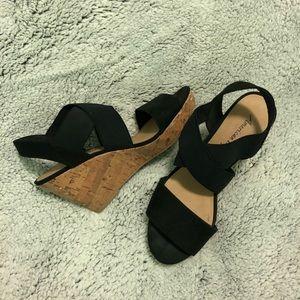 3 1/2 inch wedge heels